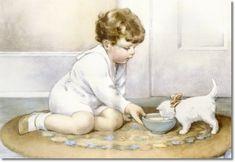 Illustration de Bessie Pease Gutmann