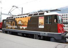 """Rhätische Bahn (RhB), Ge 4/4 II 620 """"Zernez"""", Chur (GR)"""