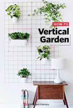 Lush vertical gardens and hanging plants on the wall can add greenery to any room (and indoor plants are all the rage) or outdoor space. Letting them crawl up to new heights.