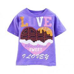 Camiseta Sweet Love Meninas