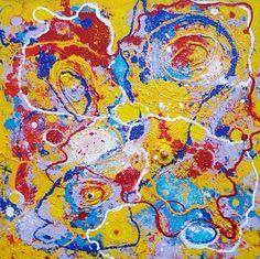 Abstract Acryl Anita Dielen