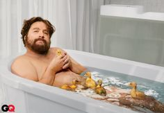 Zach Galifianakis Tackles the World's Problems: Movies + TV: GQ