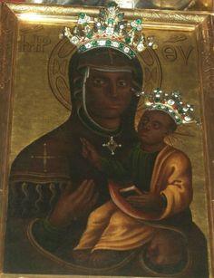 Prague: The Black Madonna under the Chain