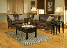 England Furniture 630L with Salvador Black Oak and Eddington Black fabrics