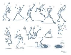 DeviantArt: More Like exhausted pose drawings by JoeyGates