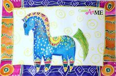Laurel burch Mythical horses