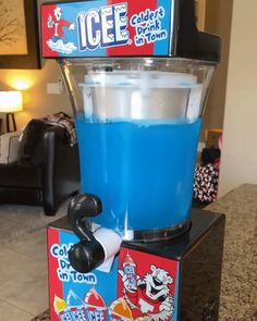 ICEE at-home Slushie Maker - Now you can have that fun, yummy ICEE slushie drink at home anytime you want with this counter-top sized ICEE at Home Slushie Machine!