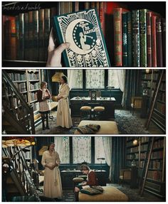 The Book Thief ~ Liesel Meminger experiencing the world of books and she is mesmerized by reading! Books To Read, My Books, Books A Million, Markus Zusak, Tv Show Music, The Book Thief, World Of Books, Book Tv, Pictures Of People