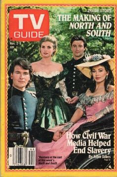 Tv Guide November 2 1985 Issue 1701 (PATRICK SWAYZE- THE MAKING OF NORTH AND SOUTH) by TV GUIDE MAGAZINE