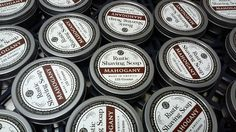 Mahogany Rustic Shave Soap