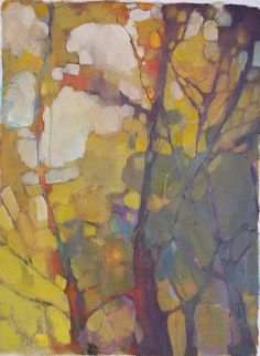 Por amor al arte: Olivia Pendergast Abstract Tree Painting, Painting & Drawing, Abstract Art, Landscape Art, Landscape Paintings, Paintings I Love, Claude Monet, Pablo Picasso, Tree Art