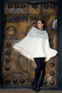 The LC Overturned Poncho