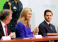 Queen Maxima of The Netherlands visits Mexico City 7-9-2017