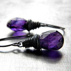 Violet Purple Amethyst