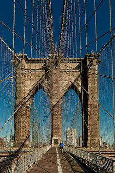 Brooklyn Bridge, New York #brooklyn #brooklynbridge #photography