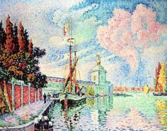 View La Dogana by Paul Signac on artnet. Browse upcoming and past auction lots by Paul Signac. Paul Signac, Paul Cezanne, Surrealism Painting, Artist Painting, A4 Poster, Poster Prints, Art Prints, Gauguin, Georges Seurat