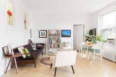 House Tour: Danielle's Bright Top Floor Apartment   Apartment Therapy