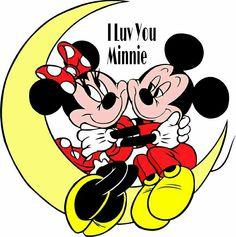 Minnie Loves Mickey (: