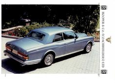 1980 Silver Corniche by Hooper (chassis CRX50264)