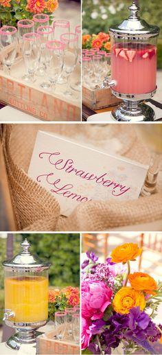 bridal_shower_brunch_rehearsal_dinner_franciscan_gardens_orange_purple_pink_centerpieces_4