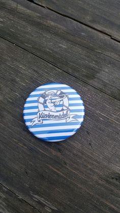 Kühlschrankmagnete - Küstenmädel Pin Up Kühlschrankmagnet - ein Designerstück von kuestenmaedel-ahoi bei DaWanda