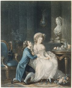 The Proposal  Louis-Marin Bonnet  (French, Paris, 1736–1793)  Date: 18th century