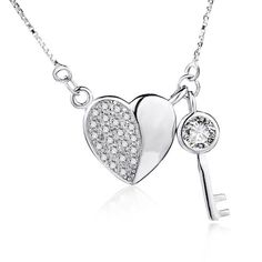 Logical Sterling Silver Cubic Zirconia Boy Pendant New Comfortable And Easy To Wear Jewelry & Watches Precious Metal Without Stones