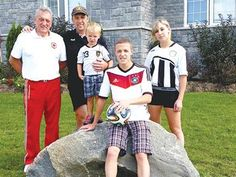 Simcoe County family's love for soccer spans four generations - The Mueller family's love for the game of soccer spans four generations.