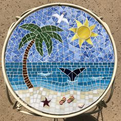 Mosaic Garden, Mosaic Art, Mosaic Tiles, Flat Marbles, Stained Glass Projects, Jewelry Art, Glass Art, Diy, Crafts