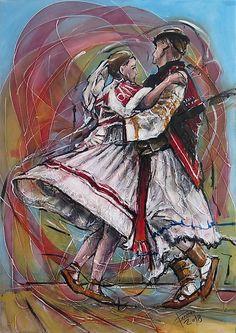 pucik / Tancuj, tancuj, vykrucaj Folk Costume, Costumes, Polish Christmas, European Countries, Czech Republic, Ukraine, Westerns, Painting, Art