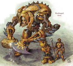 Warforged Titan and Warforged Artificer