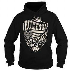 Awesome Tee Last Name, Surname Tshirts - Team HUIZENGA Lifetime Member Eagle T shirts