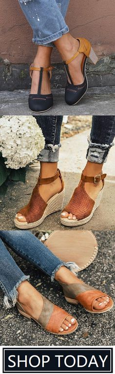 🛒Shop Best Summer Sandals for You. Buy More Save More! Source by schaferdawnm Pretty Shoes, Cute Shoes, Me Too Shoes, Summer Shoes, Summer Sandals, Fashion Shoes, Fashion Outfits, Womens Fashion, Ethno Style