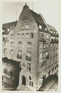 Christiania Kristiania Oslo Hotel Bristol, Kristian IVs gate 7 tidlig 1900-tall