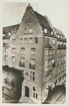 Christiania Kristiania Oslo  Hotel Bristol,Kristian IVs gate 7 tidlig 1900-tall