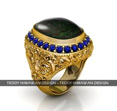 Bali 3D ring CAD jewelry Bali