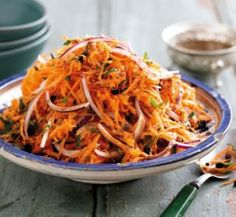 Moroccan carrot salad | Australian Healthy Food Guide