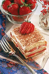 Recipe: Strawberry Tiramisu
