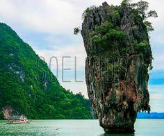 James Bond Island, Thailand #KoTaPu #KhaoPingKan #IslandInThailand #PhangNgaBay #NortheastPhuket