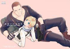 Jake x Sherry Tyrant Resident Evil, Resident Evil Anime, Resident Evil 3 Remake, Anime Couples, Cute Couples, Comic Collage, Foxy And Mangle, Albert Wesker, Evil Art