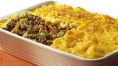 KNORR: Cottage Pie Topped with Butternut & Potato Mash - Recipe search results - Pick n Pay Beef Recipes, Baking Recipes, Mash Recipe, Pie Tops, Cottage Pie, Recipe Search, Casserole Dishes, Family Meals, Macaroni And Cheese