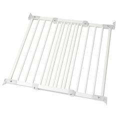 IKEA - PATRULL FAST, Kinderhekje, Je kan dit hek aan de binnen- en buitenkant van deuropeningen monteren, maar ook op andere plaatsen waar je de veiligheid voor je kind wilt vergroten, bv. als traphekje boven- en onderaan de trap.Het hek kan naar binnen en naar buiten worden geopend.