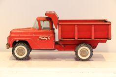 Buddy L hydraulic truck - TE KOOP bij Zolderwinkel.nl