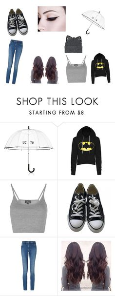 """Rainy Day"" by amazingliv on Polyvore featuring Kate Spade, Topshop, Converse, Calvin Klein and Silver Spoon Attire"