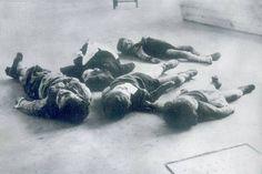 Niños víctimas de la guerra en la zona nacional