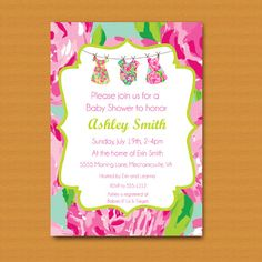131 Best Lilly Pulitzer Themed Baby Shower Images Lilly Pulitzer