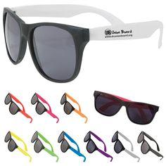 2dd37987ea1 Multi Color Custom Two Tone Matte Sunglasses