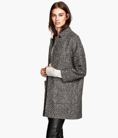 Bouclé Coat via H&M