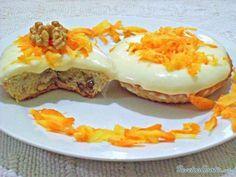 Cupcakes de zanahoria #RecetasGratis #ResposteríaFácil #RecetasdeCocina #RecetasFáciles #Postres #Repostería #Cupcakes