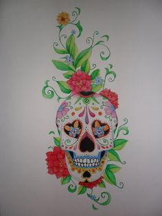 Traditional Mexican Skull